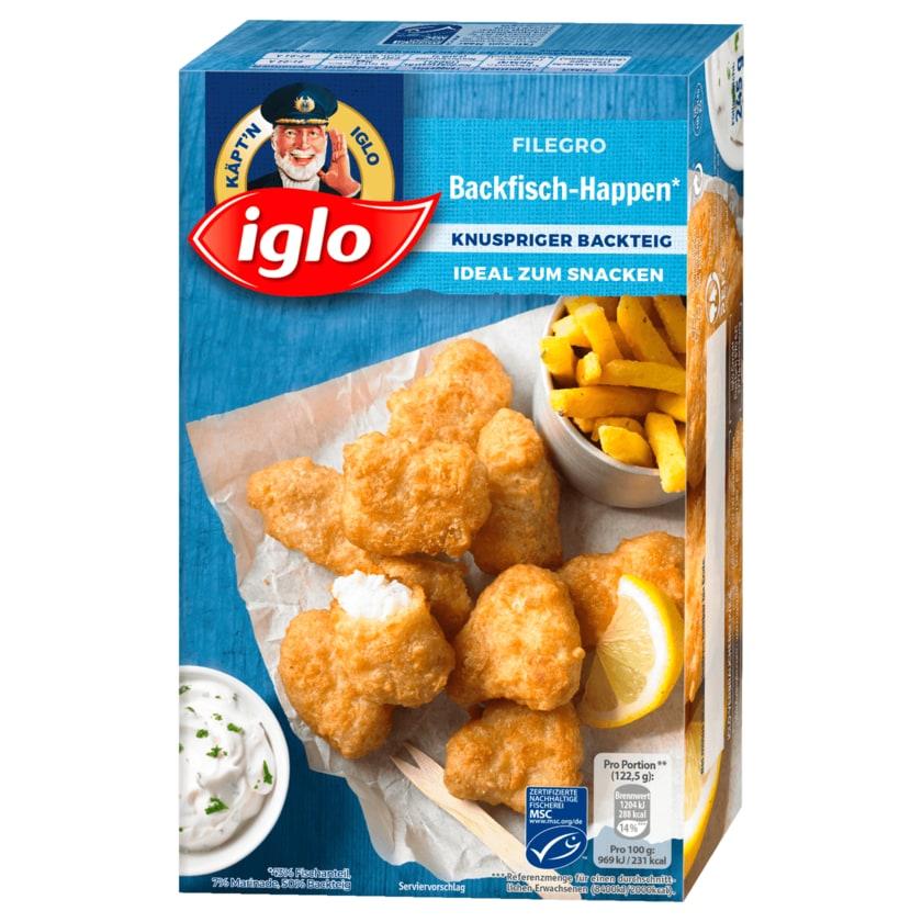 Iglo Filegro Backfisch Happen 245g