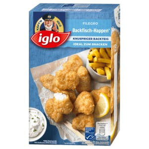 Iglo Filegro Backfisch Happen 245g