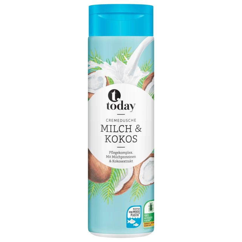 Today Cremedusche Milch & Kokos 300ml