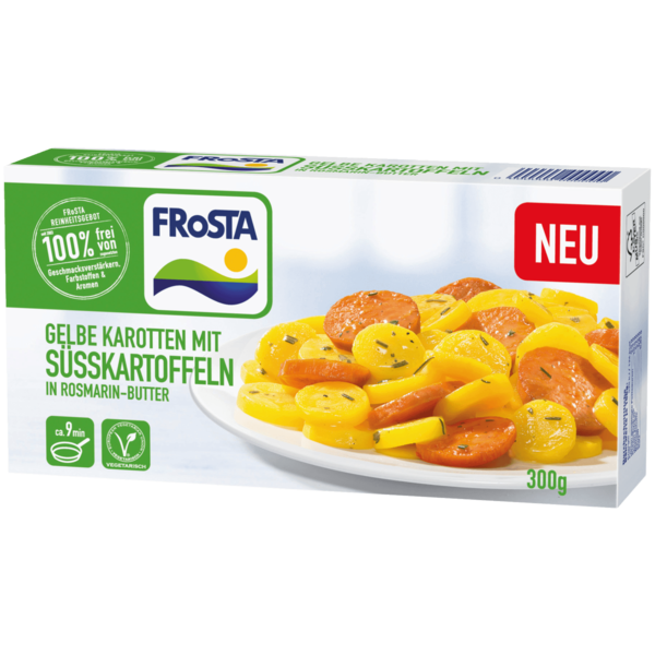 frosta s kartoffeln in rosmarin butter 300g bei rewe online bestellen. Black Bedroom Furniture Sets. Home Design Ideas