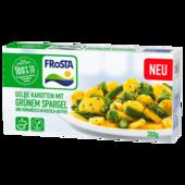 Frosta Gelbe Karotten mit grünem Spargel in Rucola-Butter 300g