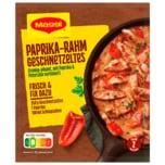 Maggi Fix für Paprika-Rahm Geschnetzeltes 43g