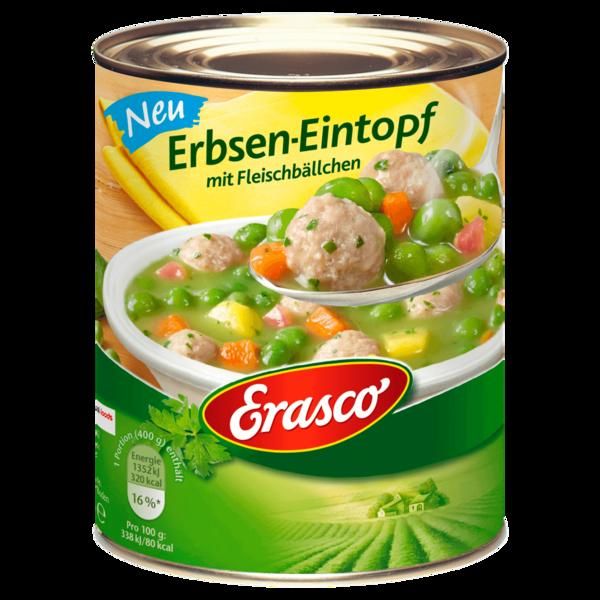 Erasco Erbsen-Eintopf mit Fleischbällchen 800g
