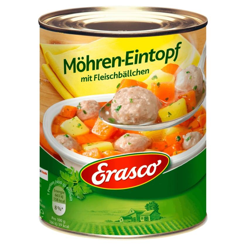 Erasco Möhren Eintopf mit Fleischbällchen 800g