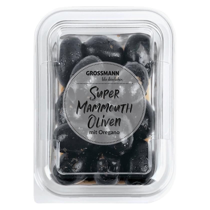 Grossmann Oliven mit Oregano 150g