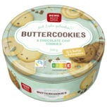 REWE Beste Wahl Danish Buttercookies & Chocolate Chip Cookies 500g