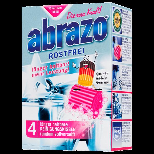 Abrazo Rostfrei Reinigungskissen 4er