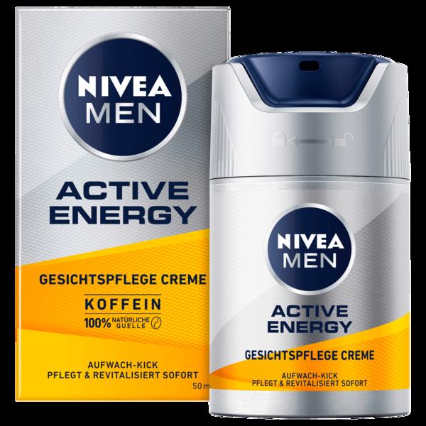 Nivea Men Active Energy Gesichtspflege Creme 50ml