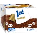 ja! Espresso 50g, 10 Kapseln