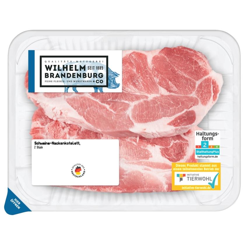 Wilhelm Brandenburg Schweine-Nackenkotelett 2 Stück ca. 470g
