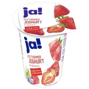 ja! Fettarmer Joghurt mild Erdbeere 250g