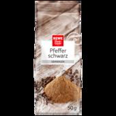 REWE Beste Wahl Pfeffer Schwarz gemahlen 50g