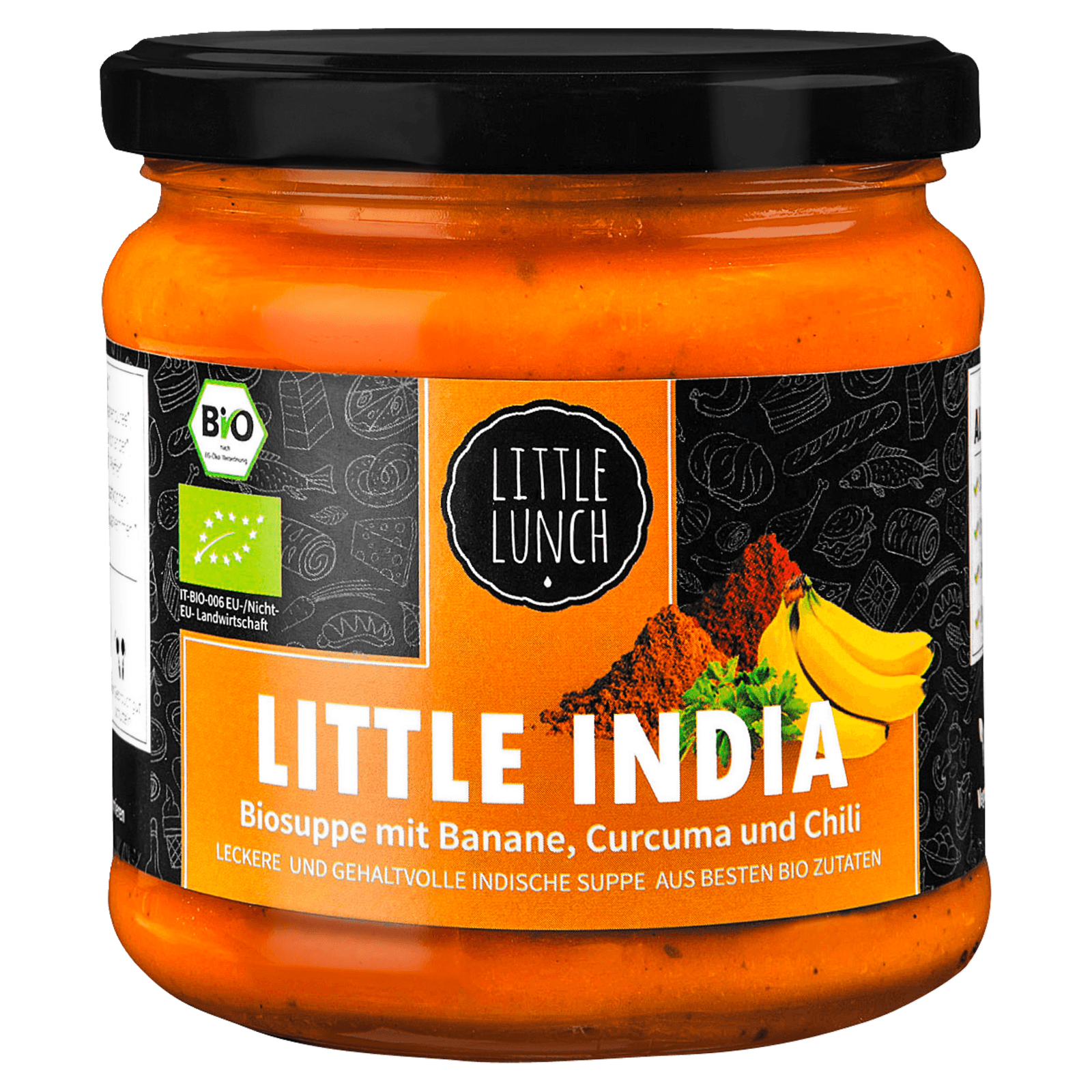 Little Lunch Bio-Suppe Little India 350ml