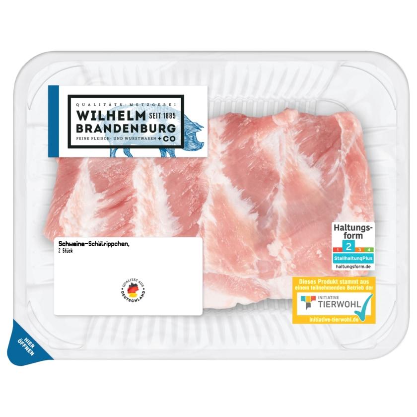 Wilhelm Brandenburg Schweine-Schälrippe 2 Stück ca. 490g