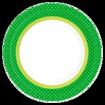 Duni Teller Grün 22cm