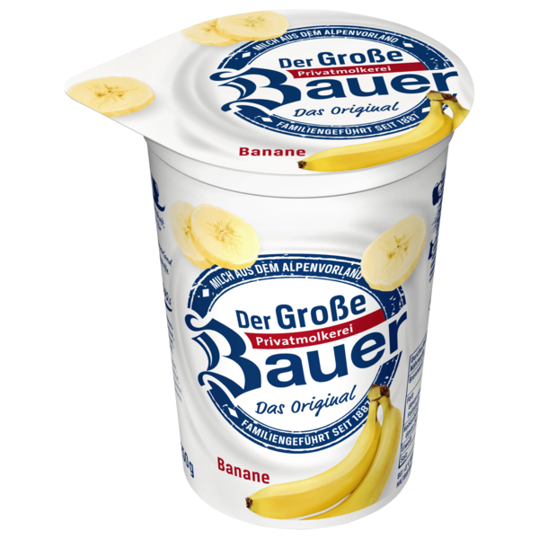 Bauer Fruchtjoghurt Banane 250g