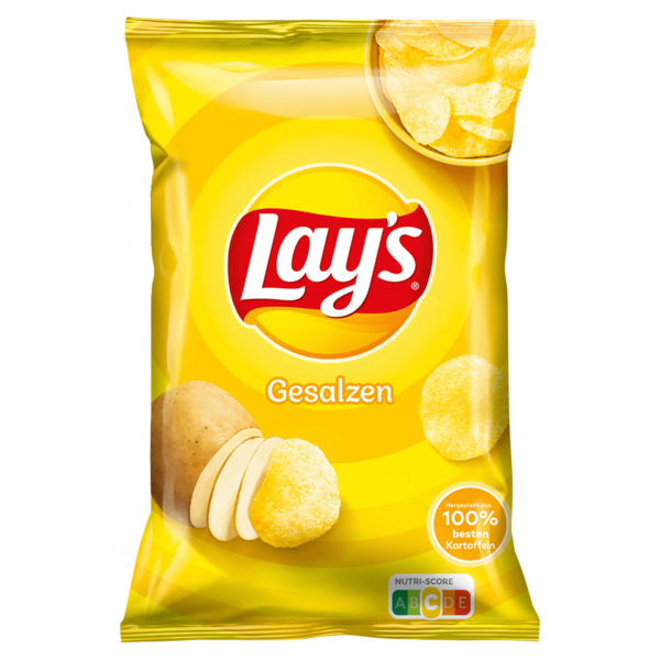 Lay's Classic Gesalzen Chips 175g