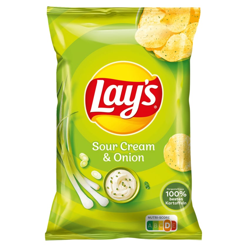 Lay's Classic Sour Cream & Onion Chips 175g