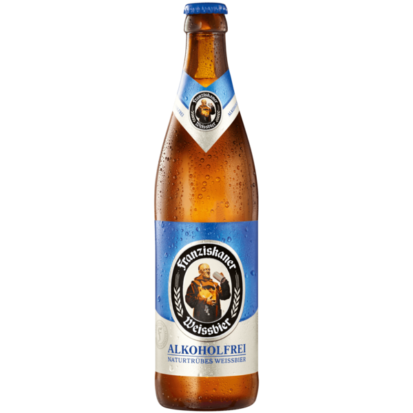 Franziskaner Weißbier Alkoholfrei 0,5l