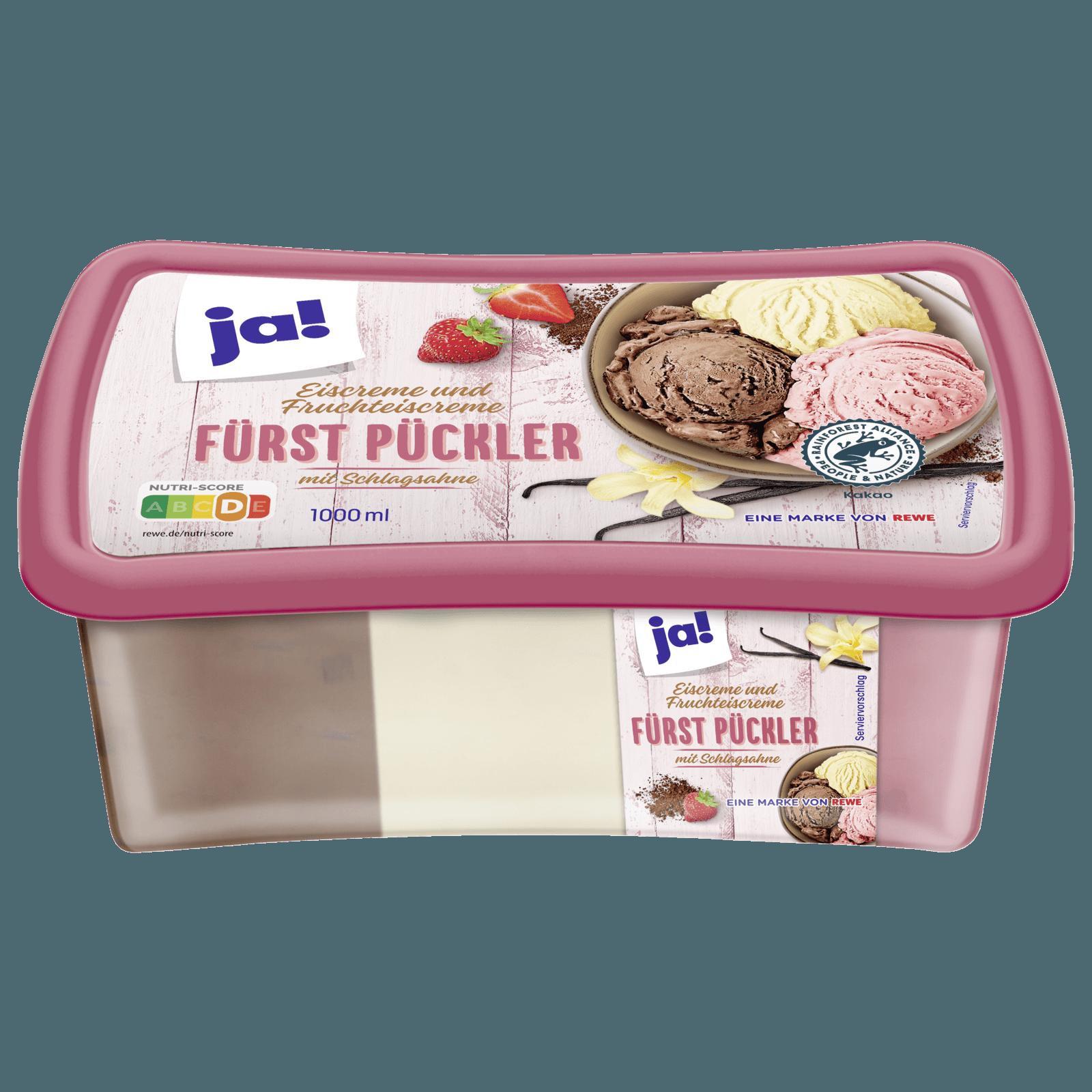 ja! Eiscreme Fürst-Pückler-Art 1000ml