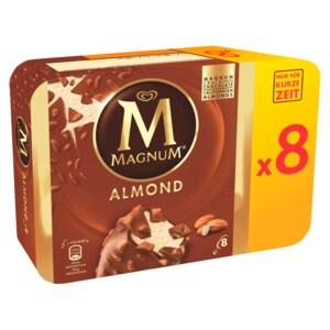 Magnum Mandel Familienpackung Eis 8x110ml