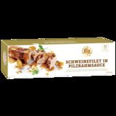 REWE Feine Welt Schweinefilet in Pilzsoße 650g