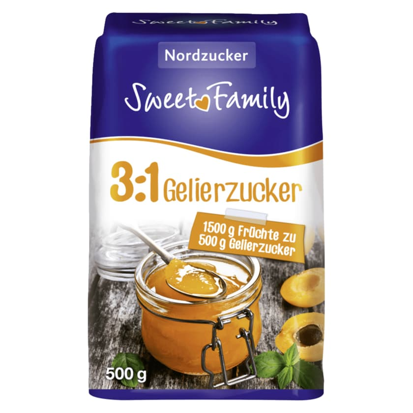 Sweet Family Gelierzucker 3:1 500g