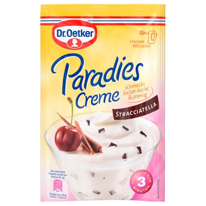 Dr. Oetker Paradies-Creme Stracciatella 66g