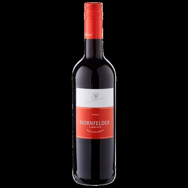 Dornfelder Rotwein QbA lieblich 0,75l
