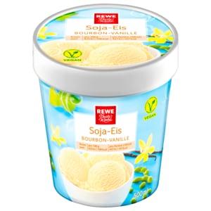 REWE Beste Wahl Soja-Eis Bourbon-Vanille 500ml