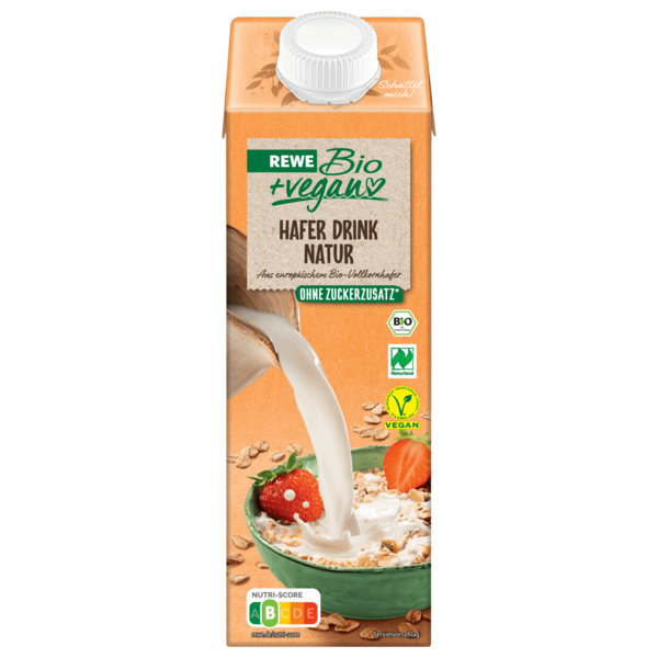 REWE Bio Hafer-Drink vegan 1l