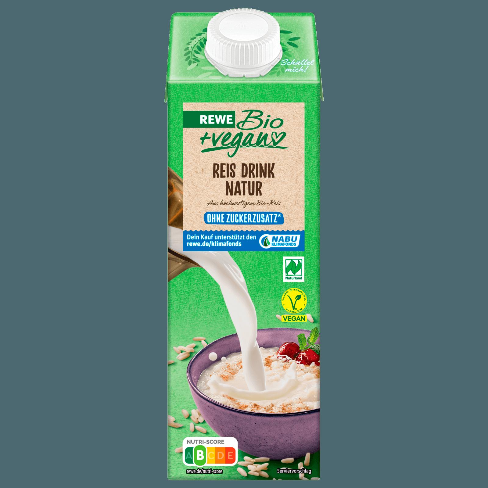REWE Bio Reisdrink + Calcium 1l
