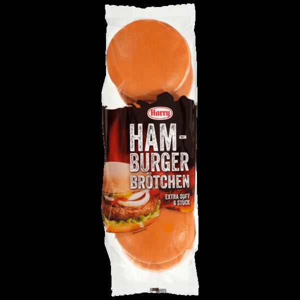 Harry Hamburger Brötchen 300g, 6 Stück