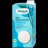 Alnavit Bio fettarme Milch 1,5 % laktosefrei 1l