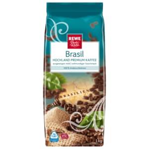 REWE Beste Wahl Brasil ganze Bohne 1000g