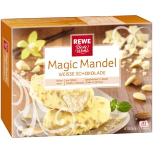 REWE Beste Wahl Magic Mandel Weiß 4x90ml