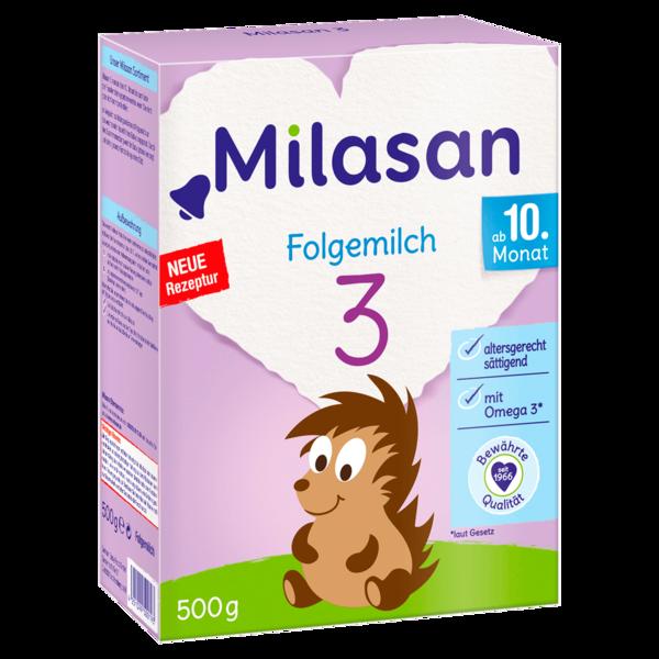 Milasan Folgemilch 3 ab 10. Monat 500g