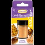 Back & Decor Gold-Glimmer Lebensmittelfarbe 7g