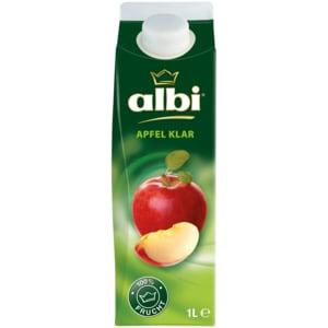 Albi Apfelsaft klar 1l