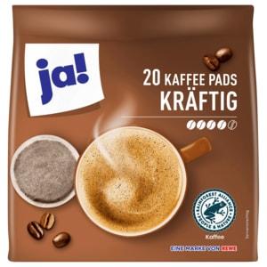ja! Kräftige Kaffee-Pads 144g