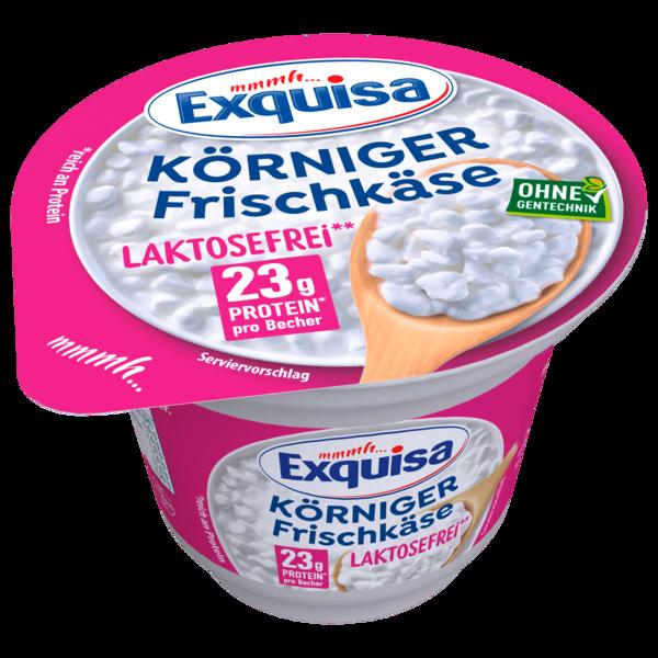 Exquisa Körniger Frischkäse laktosefrei 175g