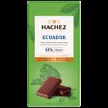 Hachez Ecuador 58% Kakao 100g