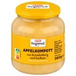 REWE Regional Apfelkompott aus Brandenburg 360g