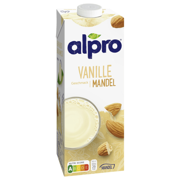 Alpro Mandel-Drink Vanille vegan 1l