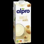 Alpro Mandel-Drink mit feinem Vanillegeschmack 1l