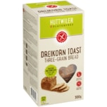 Huttwiler Dreikorn Toast Glutenfrei 300g