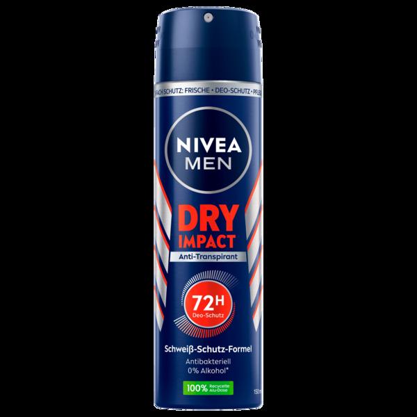 Nivea Men Deospray Dry Impact Antitranspirant 150ml