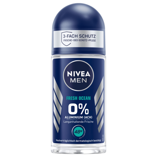 Nivea Men Deo Roll-on Fresh Ocean ohne Aluminium 50ml