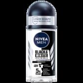 Nivea Men Deoroller Invisible For Black und White Antitranspirant 50ml
