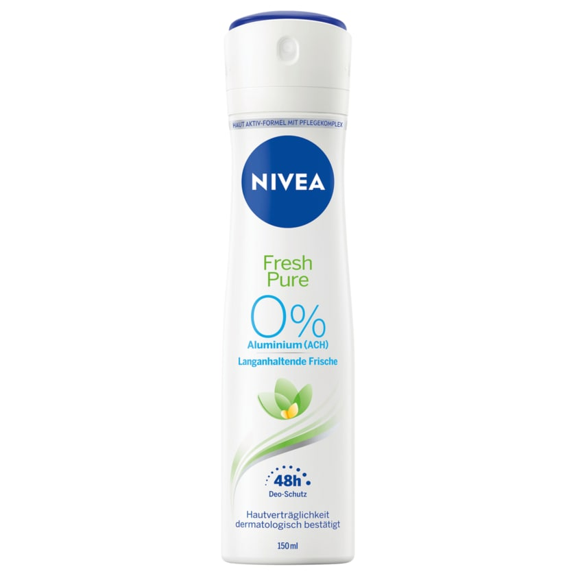 Nivea Deospray Fresh Pure ohne Aluminium 150ml